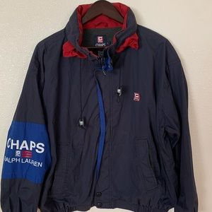 Vintage Chaps Ralph Lauren Windbreaker Jacket